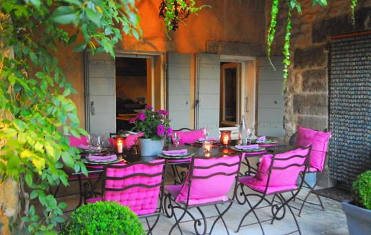 Frankreich - PROVENCE - Ménerbes - Villa Grenache - hotelvilla Provence France