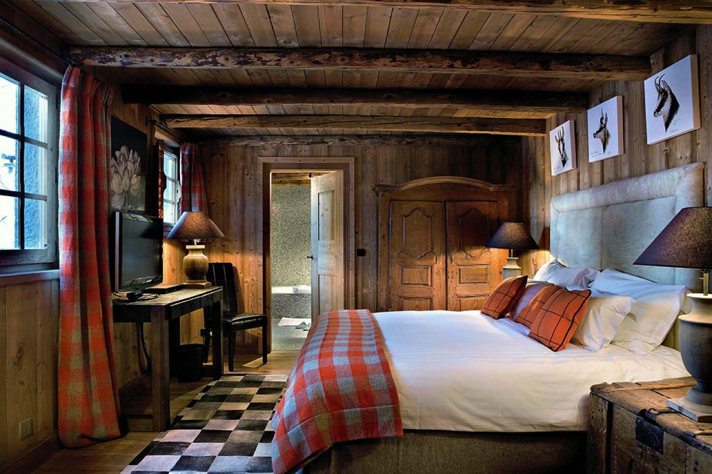 luxus alpenchalet in frankreich bei domizile reisen. Black Bedroom Furniture Sets. Home Design Ideas