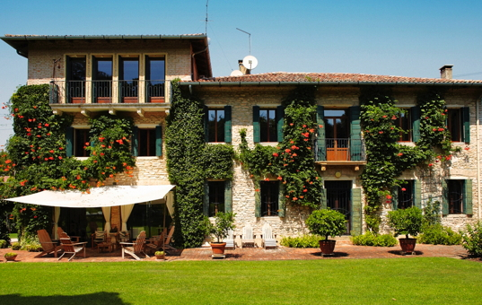 Italien - VENETO - Bastia di Rovolon - Villa La Quadrata -