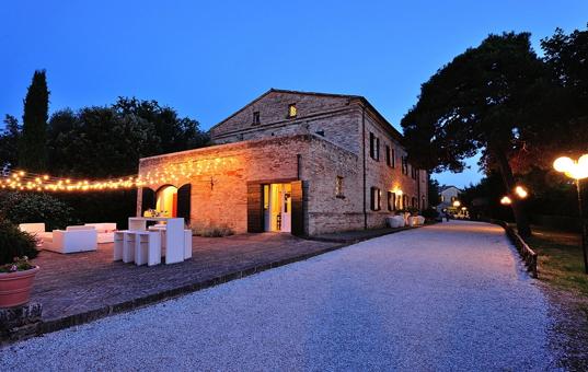 Italien - Marken  - Montemaggiore al Metauro - Villa Tombolina - historische villa mit schönem ambiente