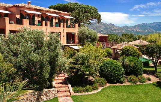 Frankreich - CORSICA - Calvi - Hotel La Signoria - Hotel with beautiful large garden