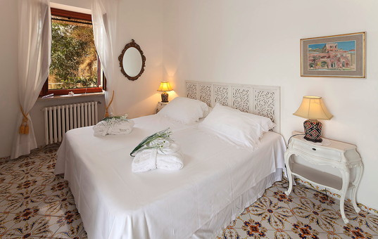 Italien - CAMPANIA - ISCHIA - Sant Angelo - Villa Margherita - Cozy double bedroom