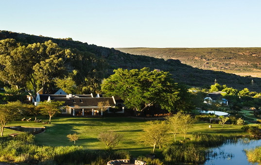 Afrika - SOUTH AFRICA - CAPE REGION - Clanwilliam - Bushmans Kloof Wilderness Lodge - luxury lodge South Africa