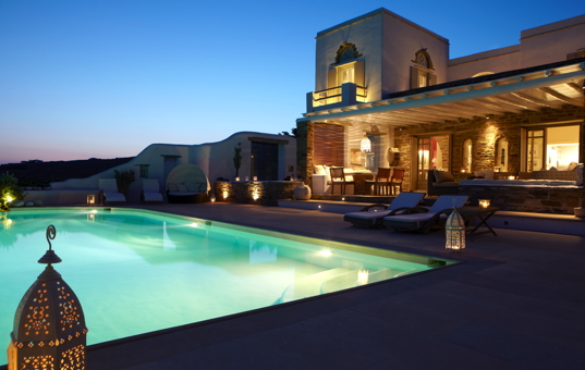 Griechenland - CYCLADES - TINOS - Triandaros - Villa Myrida -
