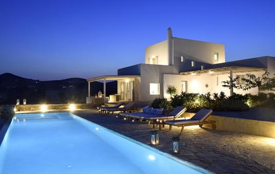 Griechenland - CYCLADES - ANTIPAROS - Soros - Villa Irma -