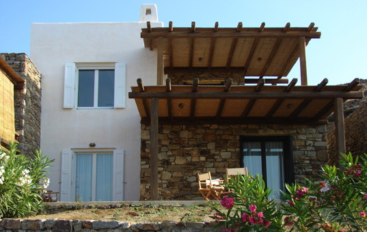 Griechenland - CYCLADES - MYKONOS - Kalafati - Studio Penelope - Villa close to the beach