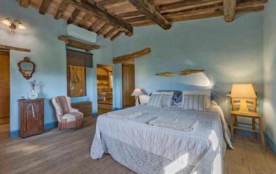 Italien - TUSCANY - Pienza - Villa Romantica - bedroom Villa Romantica Pienza
