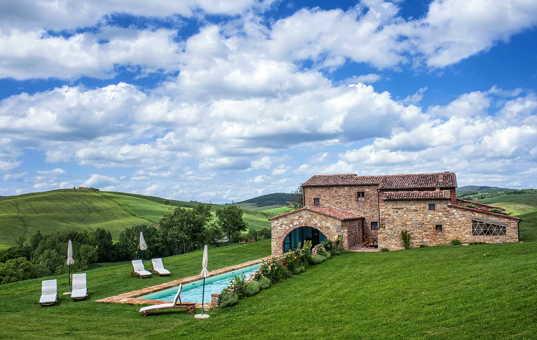 Italien - Toskana  - Pienza - Villa Pienza -
