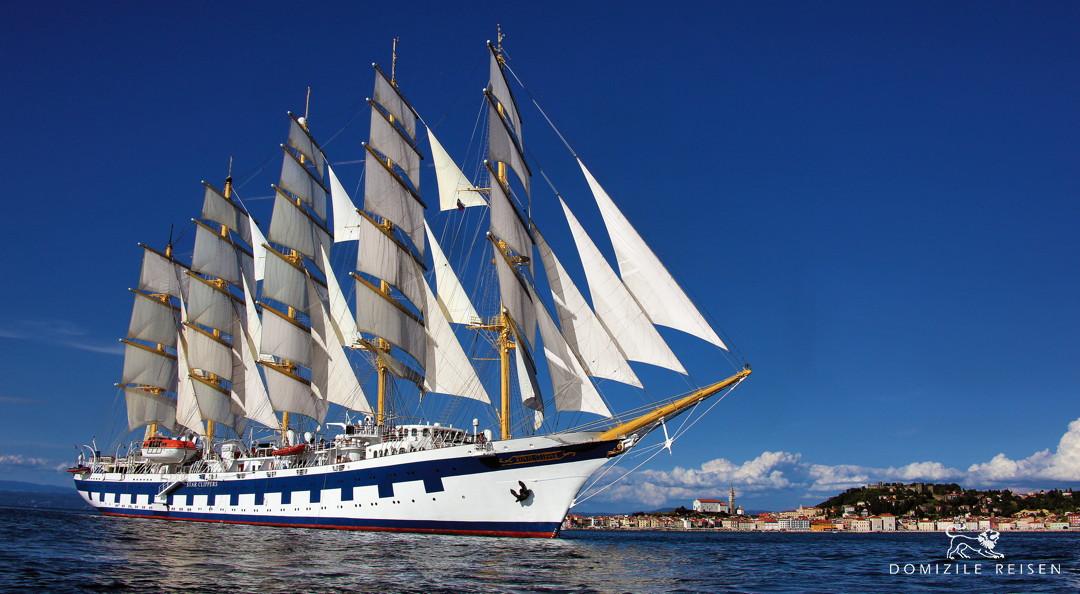 Cruise Megayacht Windjammer Royal Clipper Caribbean