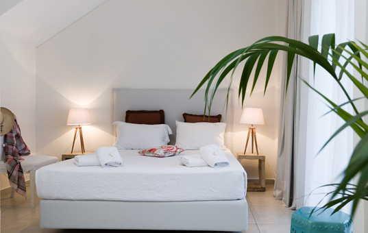 Griechenland - HALKIDIKI - Kassandra - Villa Alkistis - cosy bedroom