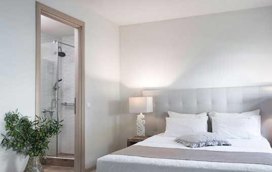 Griechenland - HALKIDIKI - Kassandra - Villa Theano - ensuite bedroom