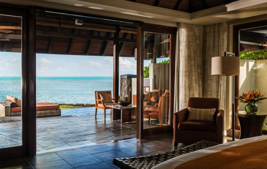 Indischer Ozean - MAURITIUS - Ostküste, Beau Champ - Four Seasons Residences Mauritius - Double bedroom with sea view