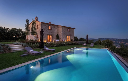 Italien - UMBRIA - San Savino di Murlo - Santa Croce - fantastic luxury villa with pool near golf course in umbria