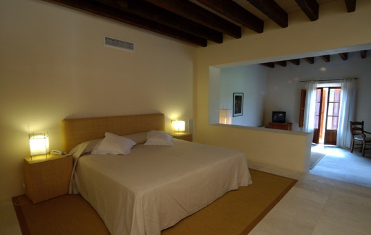 Spanien - BALEARIC ISLANDS - MAJORCA - Porto Cristo - Fincahotel Son Mas - Large double bedroom