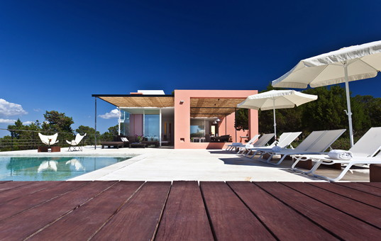 <a href='/holiday-villa/spain.html'>SPAIN</a> - <a href='/finca/spain/balearic-islands.html'>BALEARIC ISLANDS</a>  - <a href='/finca/spain/ibiza.html'>IBIZA</a> - San José - Finca Es Calo - luxury design villa with sea view