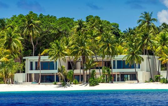 Indischer Ozean - Malediven  - Baa Atoll / nördliche Malediven - Amilla Fushi Luxury Beach Villas - Exclusive Strand Villa