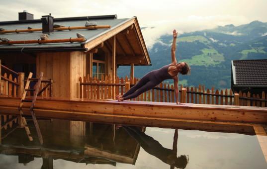 Österreich - Tirol  - Zillertal - Zell - Hochleger Sportchalet - Sportchalet mit Pool