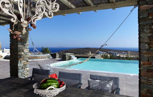 Griechenland - Kykladen  - Tinos - Lagades - DR Grande Villa -