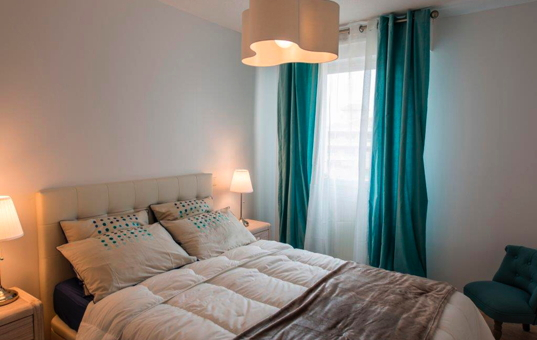 Frankreich - COTE D'AZUR - Sanary-sur-Mer - Apartment Sant Nari - Stylish furnished double bedroom