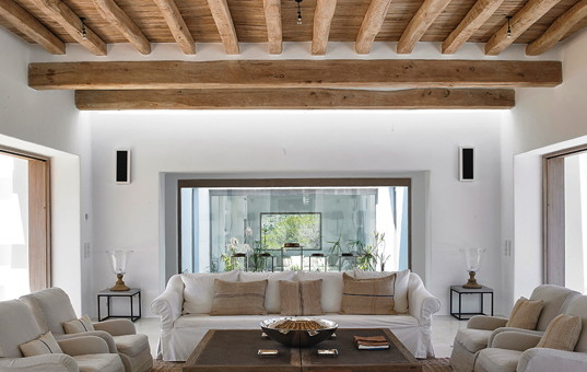 Spanien - BALEARIC ISLANDS - IBIZA - Sant Miguel - Can Trull - tasteful interior design