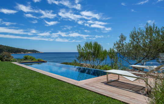 Frankreich - COTE D'AZUR - Ramatuelle - Villa Jasmina - Pool with sea view