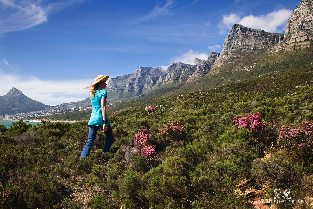 Hiking at Twelve Apostels Cape Town