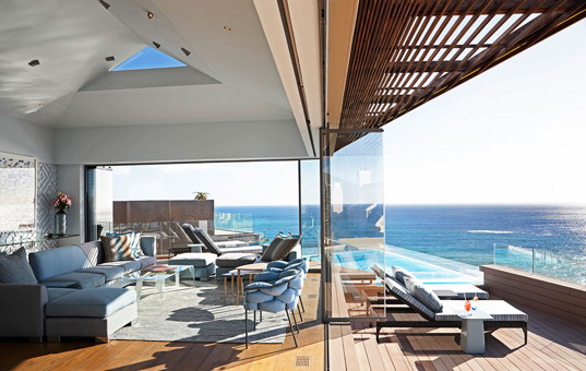 Afrika - SOUTH AFRICA - CAPE REGION - Cape Town - Ellerman House Villa Two - Vacation villa with ocean view from living room and terrace Cape Town