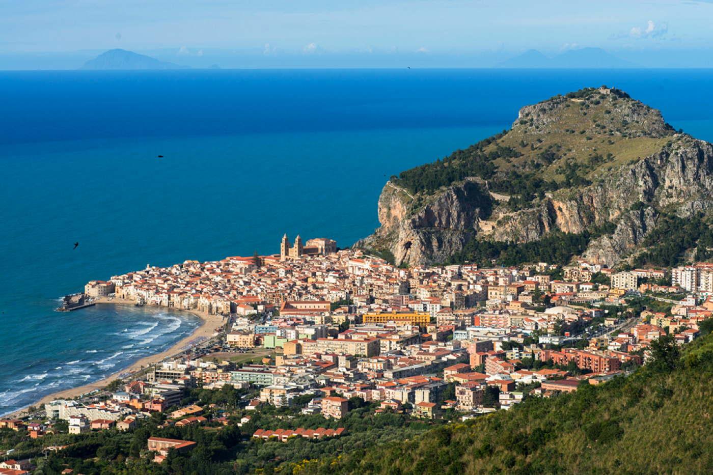 Ferienvilla Cefalu Mieten Mit Meerblick Und Pool Sizilien Italien