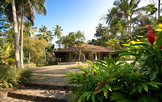 Indischer Ozean - SRI LANKA - Galle - Villa Ivory House - Ivory House in the middle of a tropical garden
