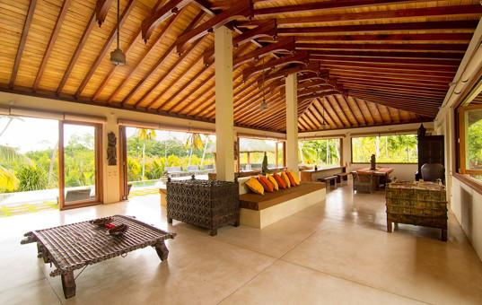 Indischer Ozean - SRI LANKA - Weligama - Villa Kumara - huge living room