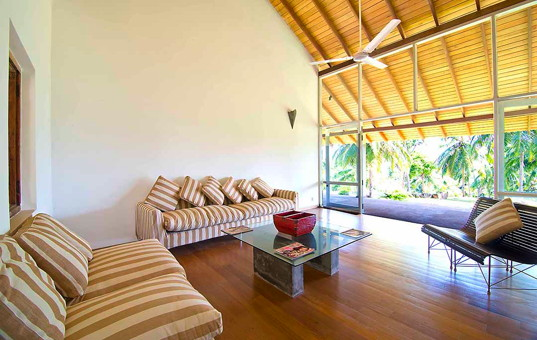 Indischer Ozean - SRI LANKA - Dikwella - Villa Blue Heights - puristical ambience