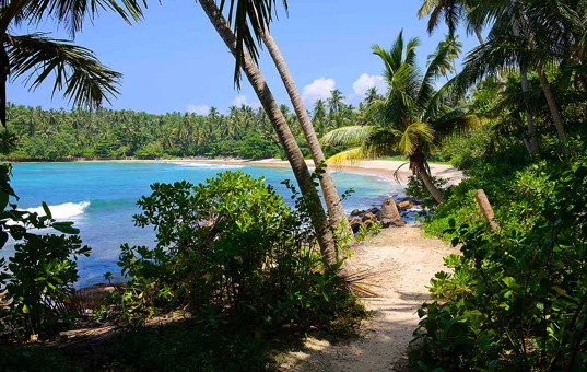 Indischer Ozean - SRI LANKA - Dikwella - Villa Blue Heights - 15 yard stroll to the beach