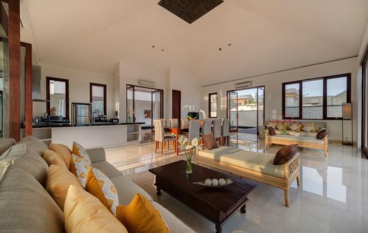 Asien - BALI - Kuta Selatan - Villa Marie - living room