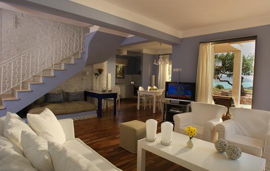 Griechenland - CRETE - Elounda - Elounda Residence  - modern living room