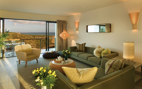 Portugal - ALGARVE - Sagres - Martinhal Sagres Cottages - suite living room
