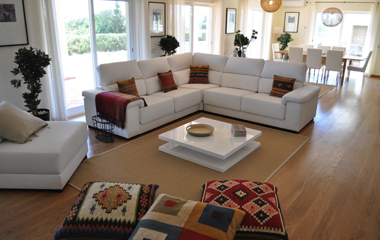 Portugal - ALGARVE - Sagres - Martinhal Sagres Villa 21 - luminous living room