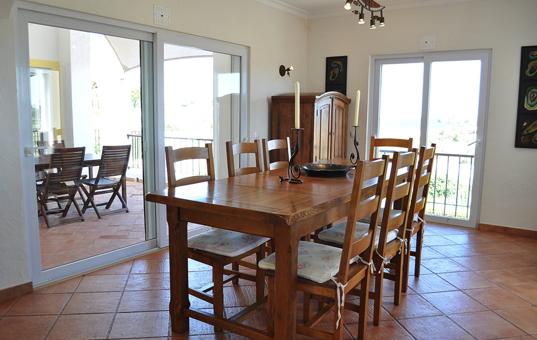 Portugal - ALGARVE - Sagres - Martinhal Sagres Villa 38 - dining room