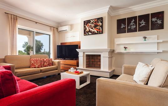 Portugal - ALGARVE - Sagres - Martinhal Sagres Villa 92 - living room villa 92