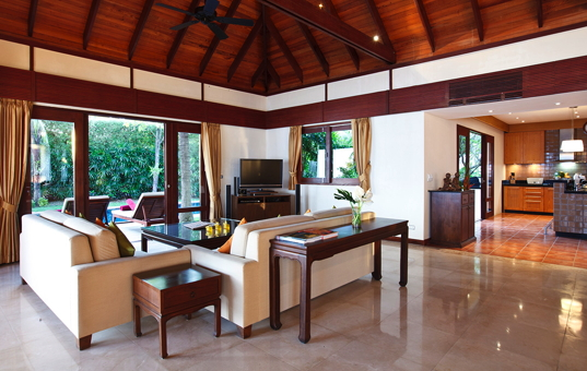Asien - THAILAND - Koh Samui, Suratthani - Villa Cassia - living room