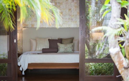 Asien - THAILAND - Koh Samui, Suratthani - Villa Limone - bedroom of beachvilla in Thailand