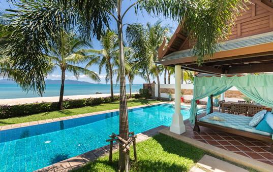 Asien - THAILAND - Koh Samui, Suratthani - Villa Acacia - spacious beach front villa in pavilion style in Koh Samui Thailand
