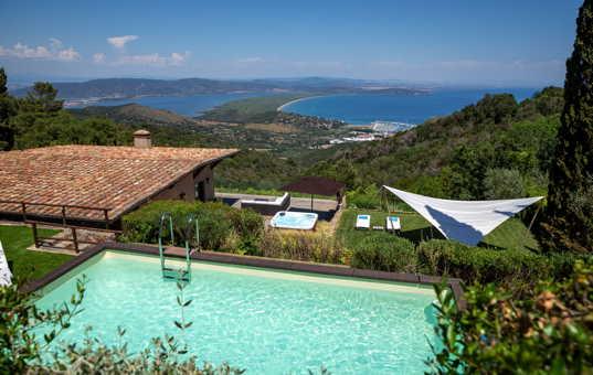 Italien - TUSCANY - MONTE ARGENTARIO - Porto Ercole - Casa Cala Galera -