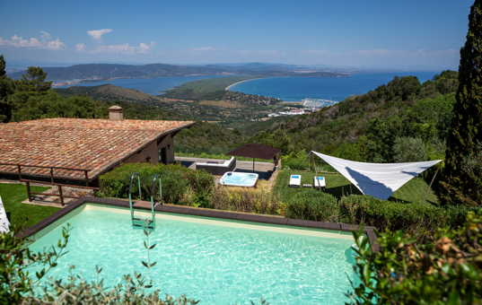 Italien - Toskana  - Monte Argentario - Porto Ercole - Casa Cala Galera -