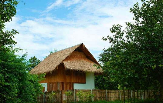 Asien - THAILAND - Chiang Mai | Namprae Village - Hoshihana Cottage Dam - Cottage for rent in traditional thai style