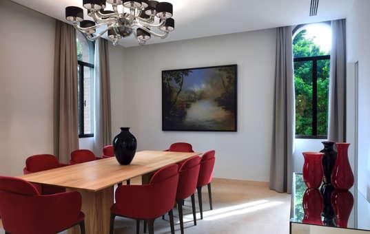 Italien - VENETO - Venedig - Villa Isola Rose - diningroom villa venice