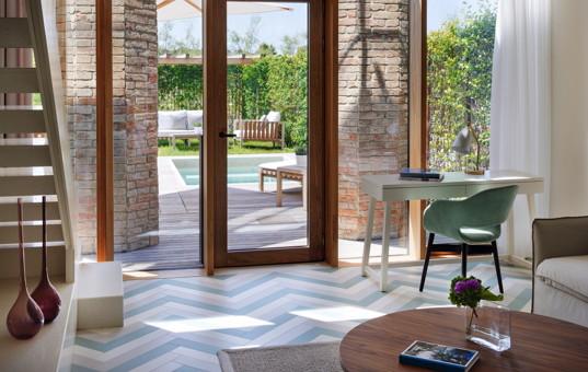 Italien - VENETO - Venedig - Loft Suite  - Loft Suite modern living room