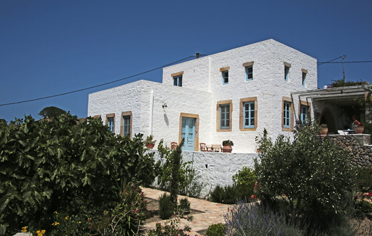 Griechenland - DODECANESE - PATMOS - Chora - Spiti Chora -