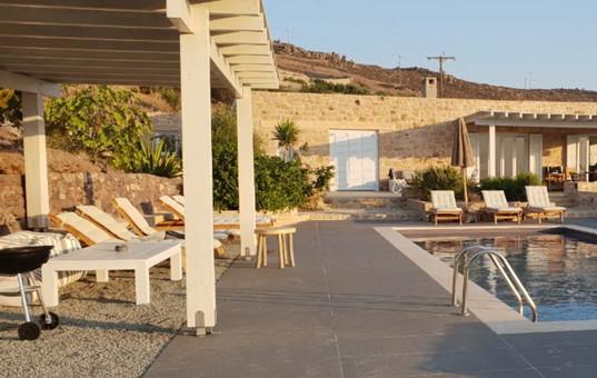Griechenland - DODECANESE - PATMOS - Kampos - Villa Kaktus -