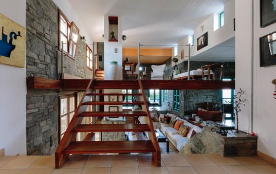 Griechenland - CYCLADES - PAROS - Ambelas - Pasiphae Villa - contempory design interior