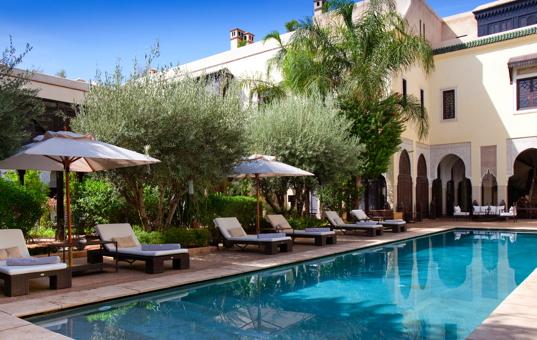 Afrika - MOROCCO - Marrakech - Riad Villa des Orangers -